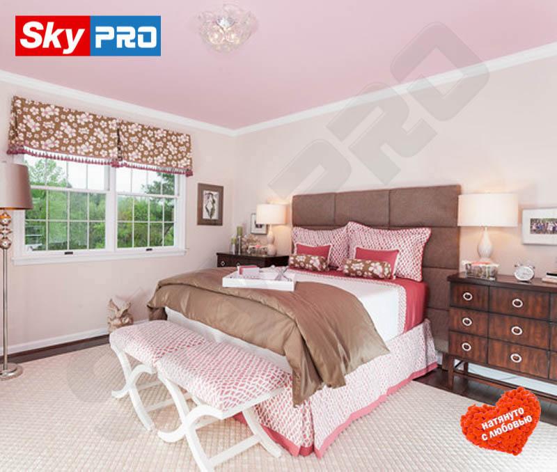 Цветной тканевый потолок Экстра цена за м<sup>2</sup>