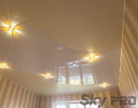 Современные хрустальные потолочные светильники