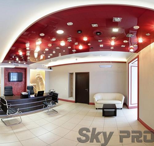 светильники в офисе SkyPRO в Петрозаводске